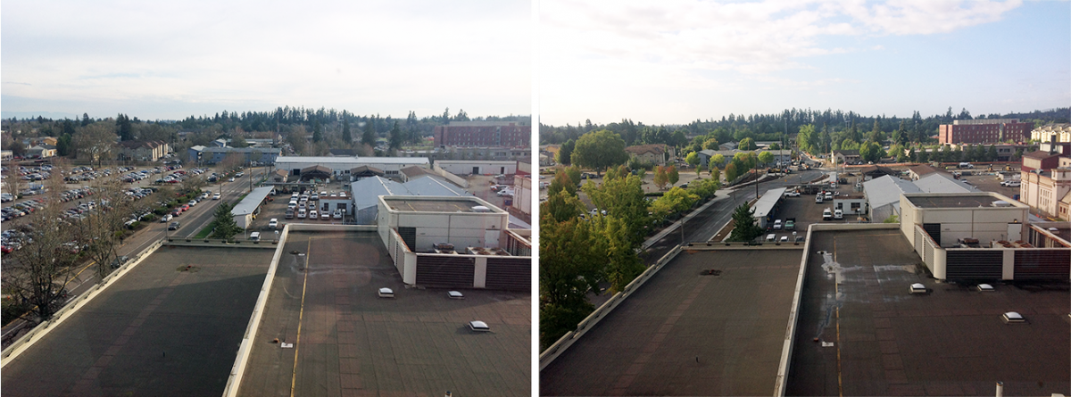 15th and Wash Way Before/During