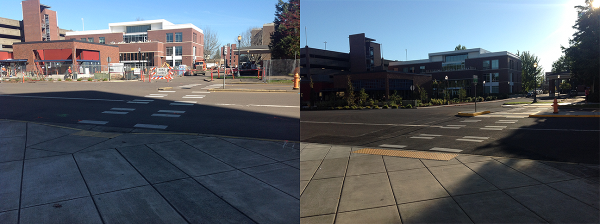 26th and Stadium Ave Before/After