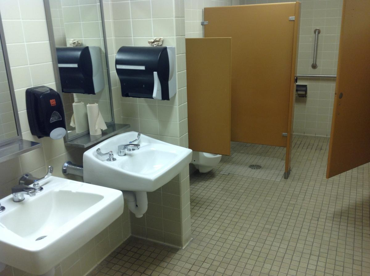Gilbert Addition Restroom After