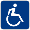 symbol for someone who uses a wheelchair