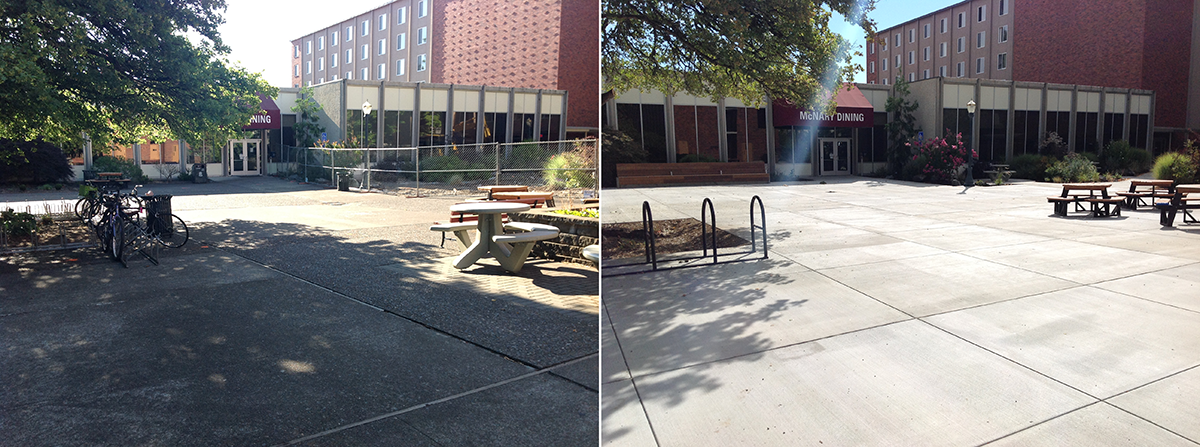McNary Plaza Before/After